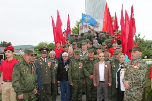 Парад победы в Кизилюрте
