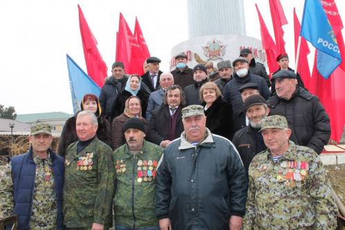 Торжественная военно-патриотическая акция, посвященная Дню защитника Отечества в Кизилюрте