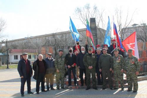 Торжественный митинг посвященный 32- годовщине выводы войск из Афганистана в Кизилюрте